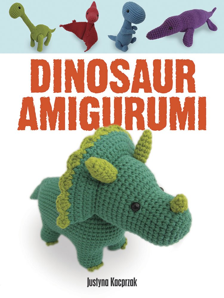 Dinosaur Amigurumi by Justyna Kacprzak