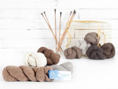 Cloudborn Eco Alpaca & Highland Fingering Yarn
