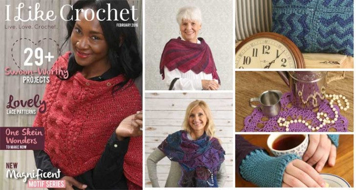 I Like Crochet Magazine -February 2016: 29+ fantastic crochet patterns!