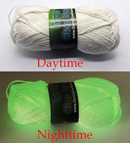 Glow in the dark yarn
