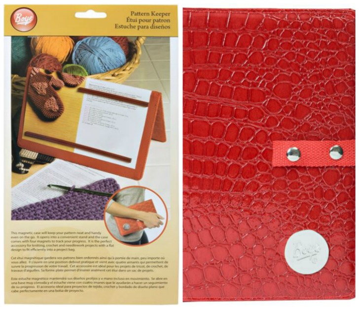 Boye Pattern Keeper - keep your on the go patterns clean and organized and safe!