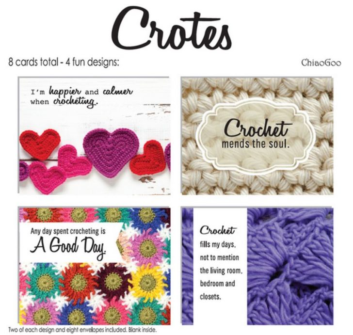 Crochet Notecard Set! So fun!!