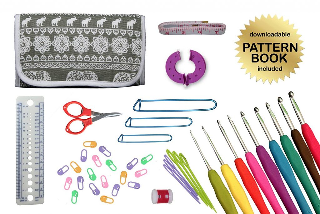 Gold Medal Crafts' 44pc Ultimate Crochet Kit
