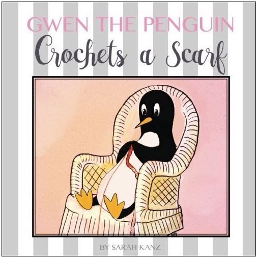 A crochet themed book written by a crocheting author, for all our kids!