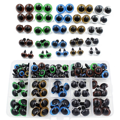 Plastic Safety Eyes – 100pcs