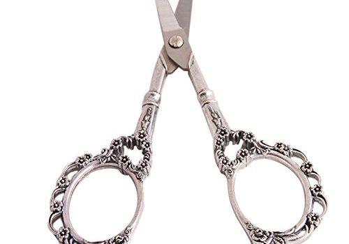 Vintage Style Scissors in a Gorgeous Flower Pattern!