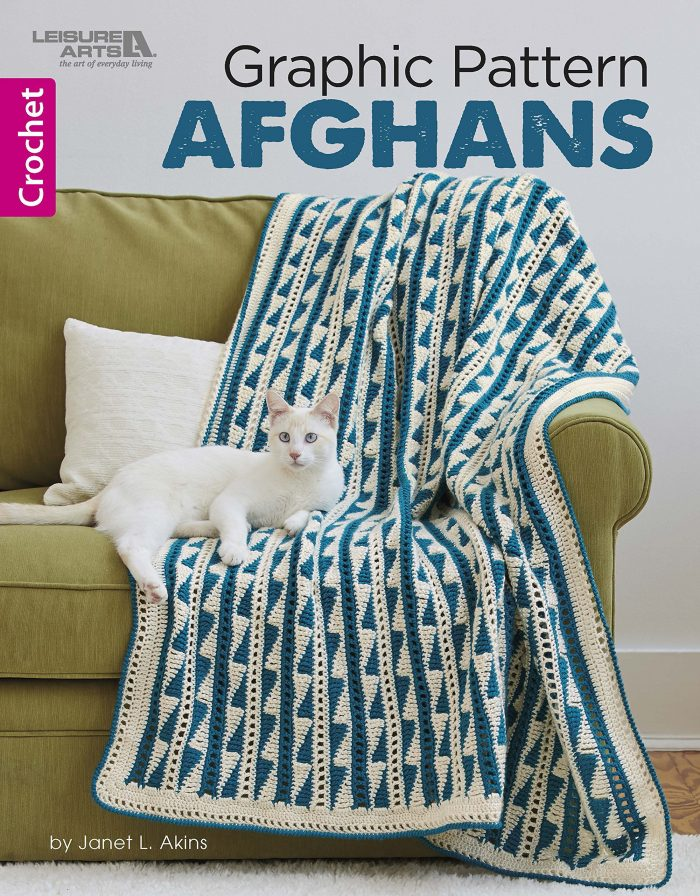 Graphic Afghans - fantastic collection of modern afghans to make this year!