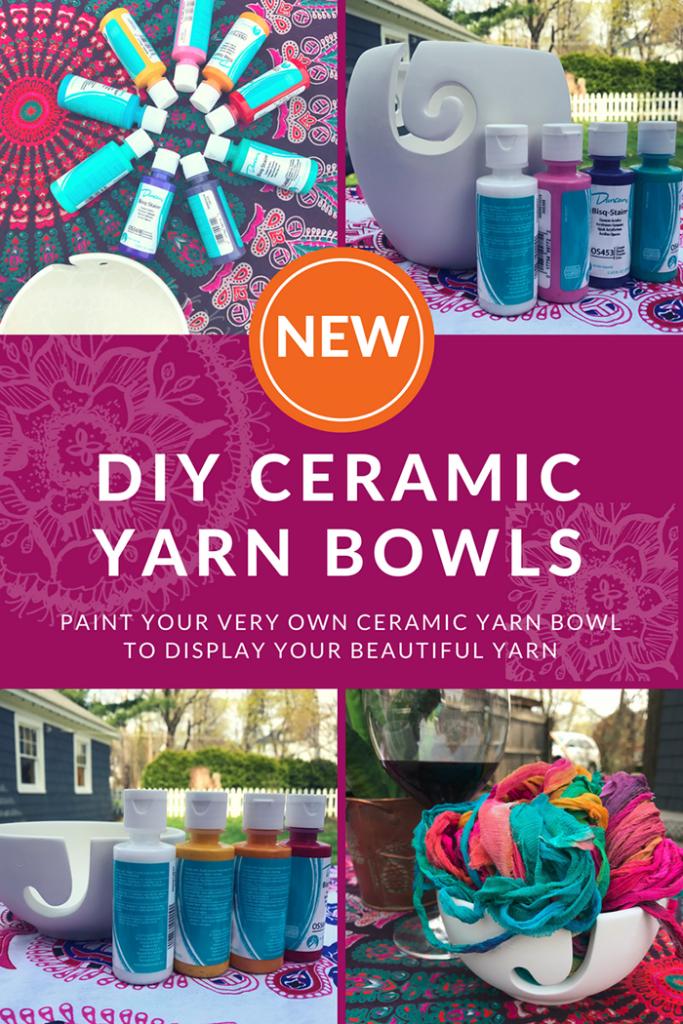 DIY Ceramic Yarn Bowls