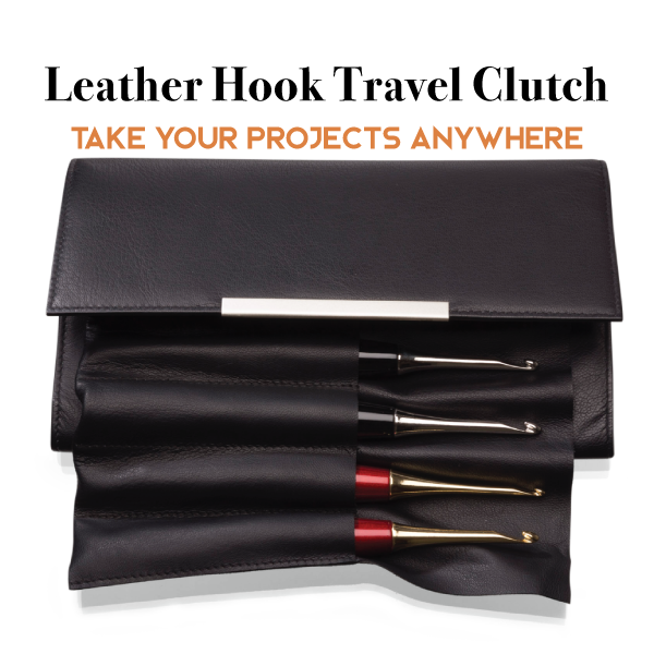 Carry your hooks in the style they deserve with the Furls Leather Hook Clutch!