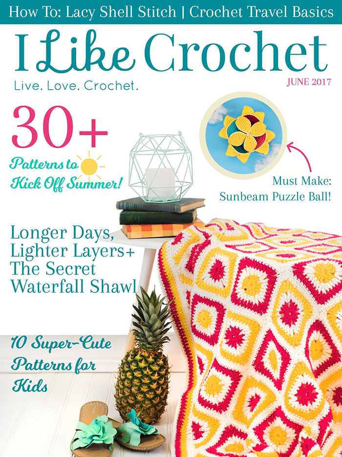 I Like Crochet Magazine June Issue
