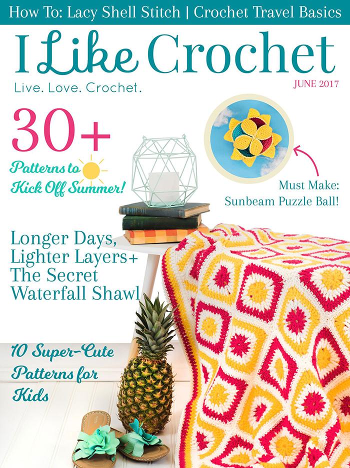 I Like Crochet Magazine June Issue