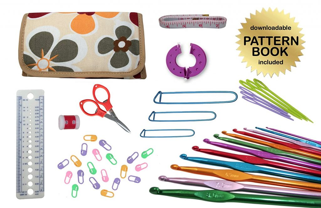 47-Piece Standard Crochet Kit
