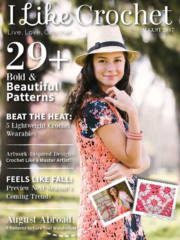 I Like Crochet - July 2017 Issue!