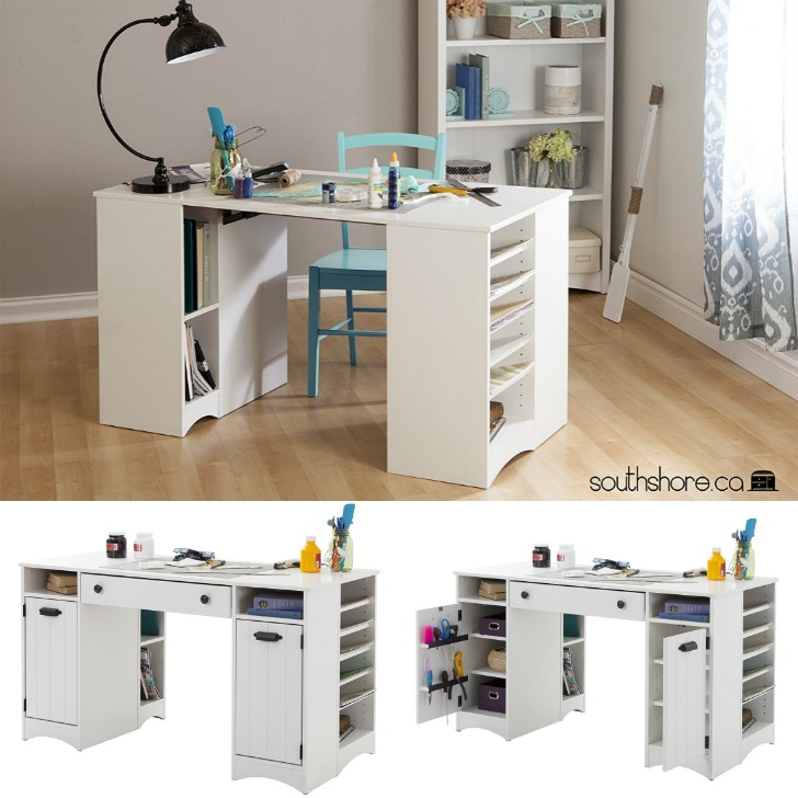 Artwork Craft Table - perfect for crafters, sewers, knitters, crocheters, and more!
