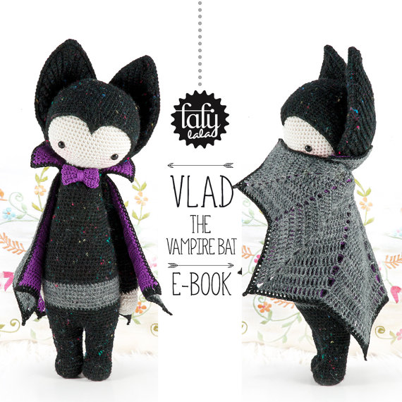 VLAD the vampire bat amigurumi