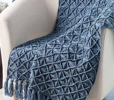 Lattice Afghan Crochet Pattern