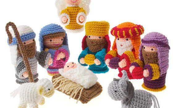 Crochet Amigurumi Christmas Holiday Nativity