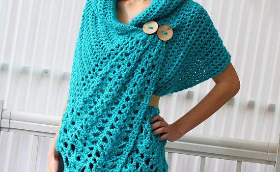 Shali Crochet Wrap