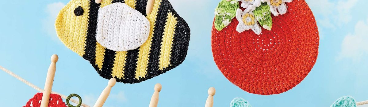 Dishcloths to Crochet: Fun Designs to Brighten Your Kitchen! by Pat Olski