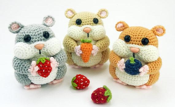 Hamish the Hamster – Amigurumi Crochet Pattern