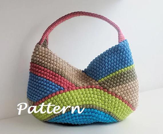 Crochet Beach Bag by isWoolish