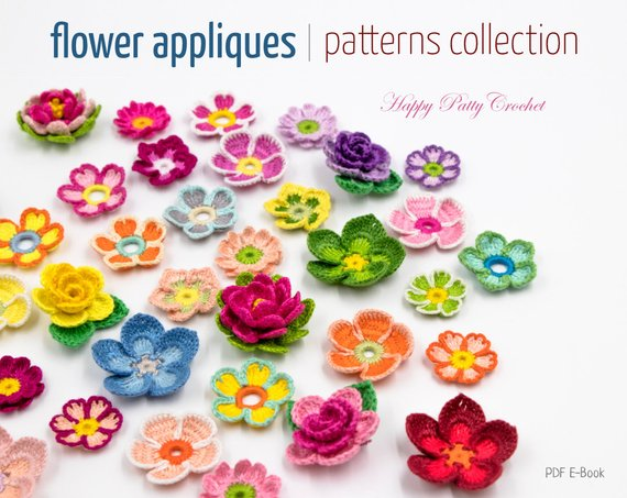 9 Crochet Flower Pattern Collection