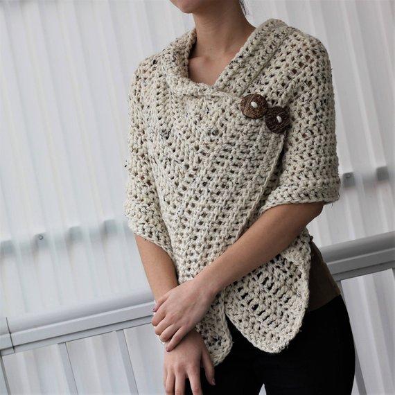 AZALI Crochet Wrap