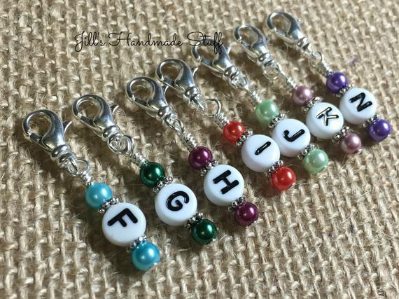 Crochet Letter Markers