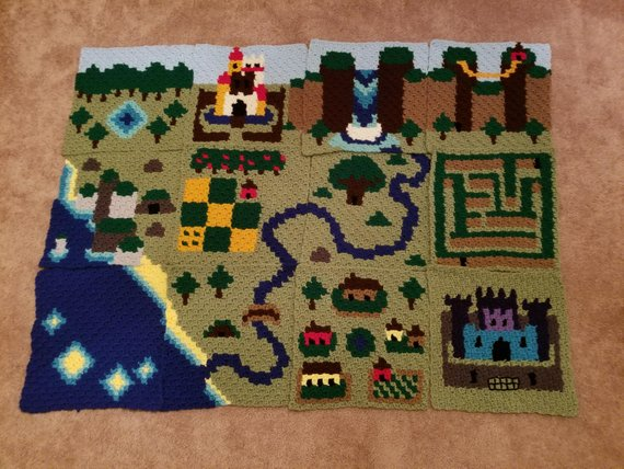 The Book of Maps: Crochet Patterns for Adventurers