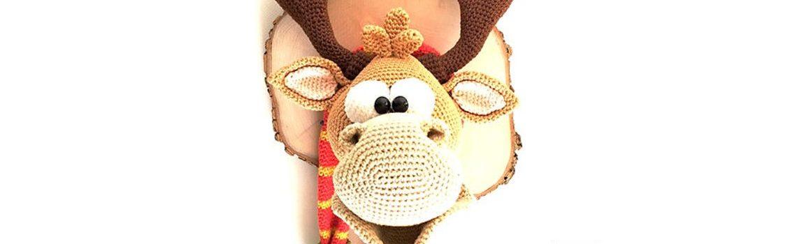Deer Trophy Crochet Pattern by Mala Design