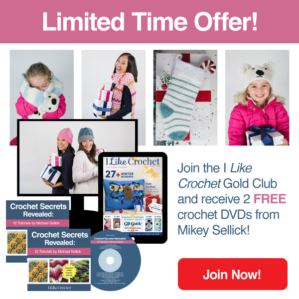 Limited time offer from I Like Crochet Magazine