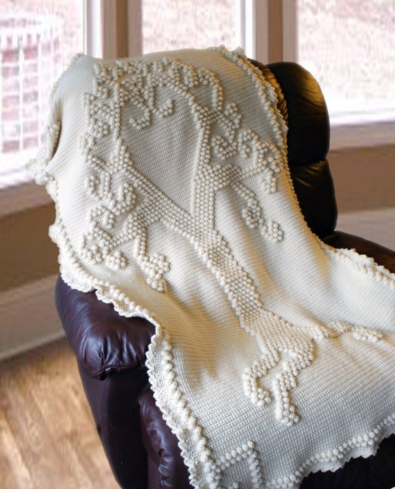 Tree of Love Heirloom Afghan