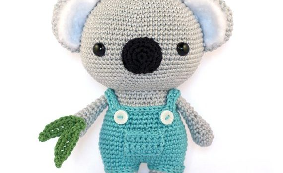 Cute Koala amigurumi by DIY Fluffies