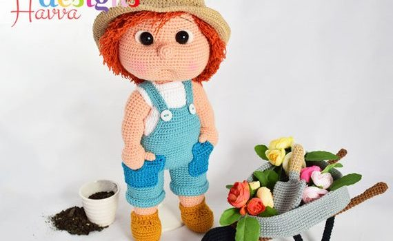 Tommy The Gardener by Havva Designs