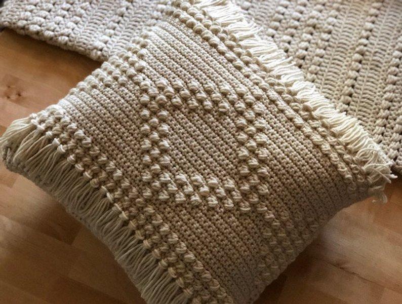 Diamond Luxe- Boho Pillow Cover