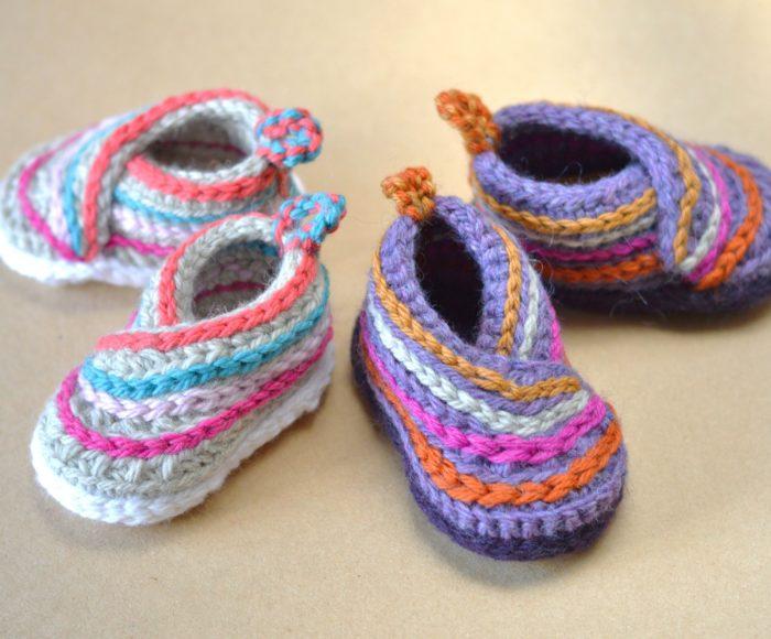 Baby Kimono Slippers