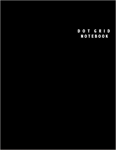 Dot Grid Notebook: Large (8.5 x 11 inches)