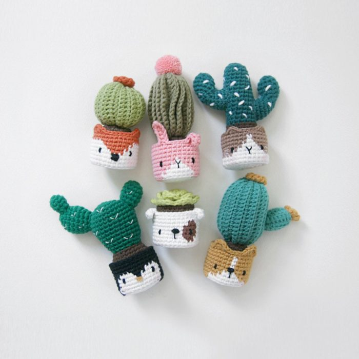 Crochet Pattern – Cactus in the Facepot