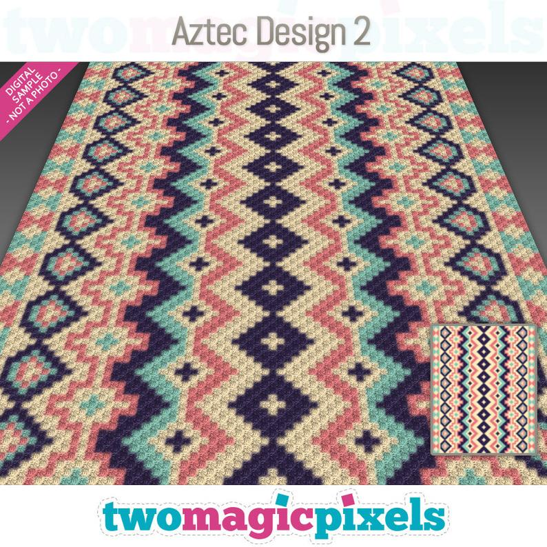 Aztec Design 2 crochet