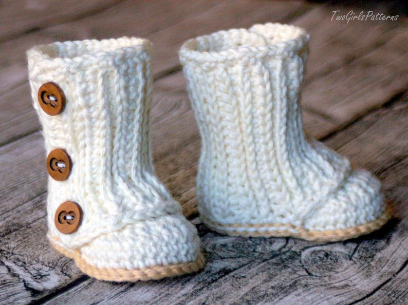 Baby Wrap Boot by Two Girls Patterns - crochet envy