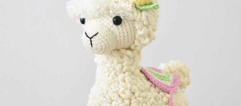 The Sweetest Little Crochet Alpaca!